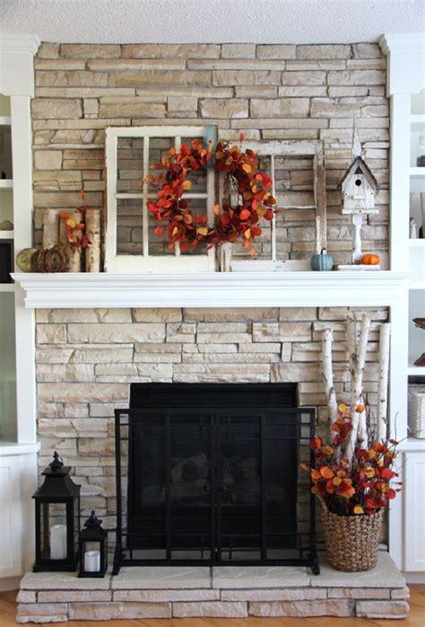 ideas   fireplace decor  pinterest
