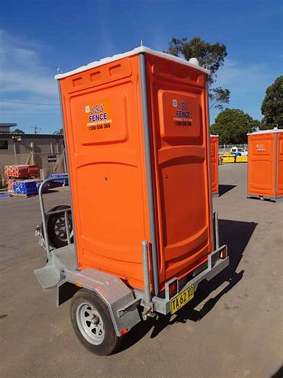 Portable Toilet Trailer Toilets Mounted Trailers Transport