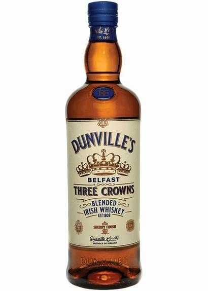 Whiskey Irish Three Dunville Sherry Crowns Finished