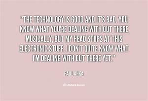 Good Technology... Nice Technical Quotes