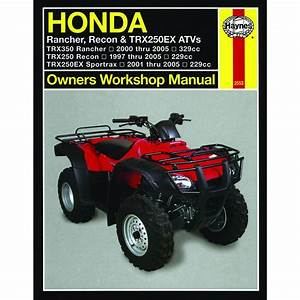 Manual Haynes For 2007 Honda Trx 250 Tm7 Fourtrax