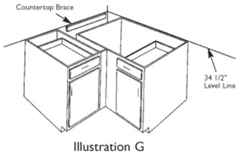 Kitchen Cabinets Installation Manual by Lazy Susan Aristokraft Cabinet Installation