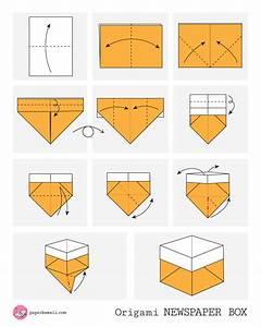 Origami Diagrams Box Star