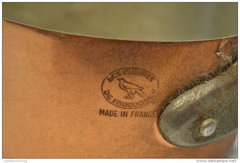 batterie de cuisine en cuivre série batterie de casseroles en cuivre étamé