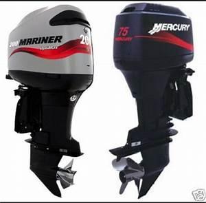Mercury Mariner Outboard 65jet 80jet 75 90 100 115 125 Hp 2