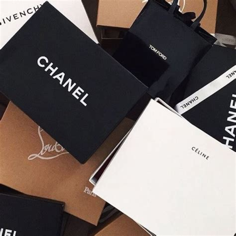 chanel shopping bags