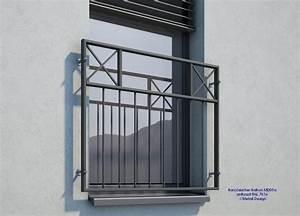Französischer Balkon Pulverbeschichtet : franz sischer balkon md05ap anthrazit ral7016 deutschland ~ Orissabook.com Haus und Dekorationen