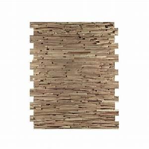 Panneau Bois Decoratif : panneau mural d coratif oslo en bois naturel de ch ne ~ Teatrodelosmanantiales.com Idées de Décoration