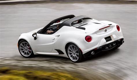 Alfa Romeo 4c Specs by Alfa Romeo Spider Specs