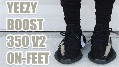 "New YEEZY Boost 350 V2 ""Green""   Review, Unboxing, and On"