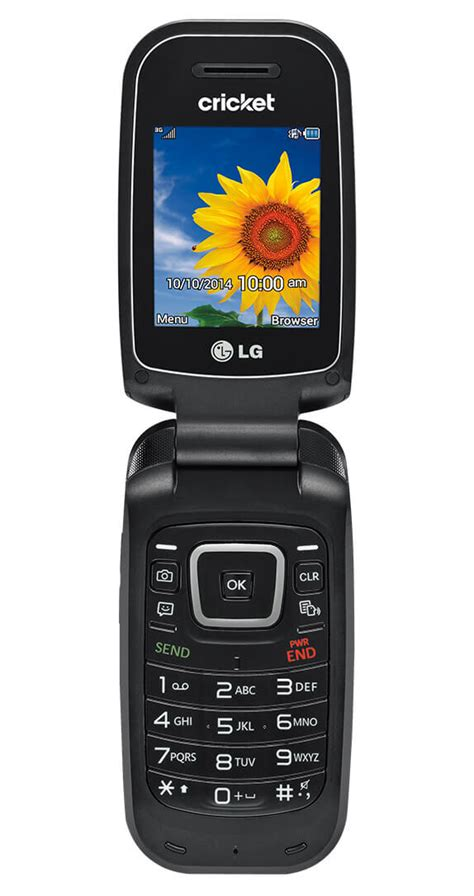 cricket phones on lg true flip phone basic cell phones prepaid cricket