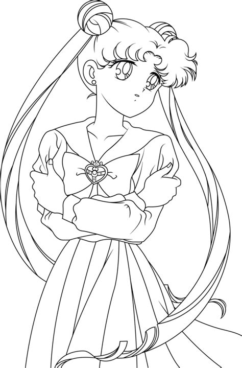 Sailor Moon Line Art by SayurixSama on DeviantArt | Sailor