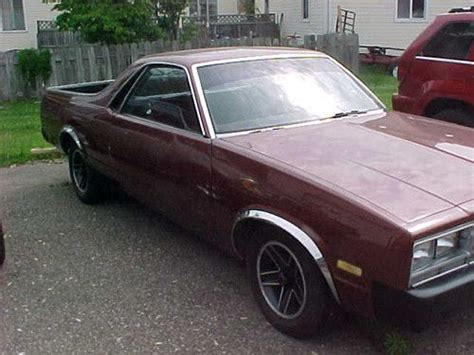 Sell Used 1982 Chevrolet Chevy El Camino In Sistersville