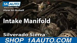 How To Install Replace Intake Manifold 2000
