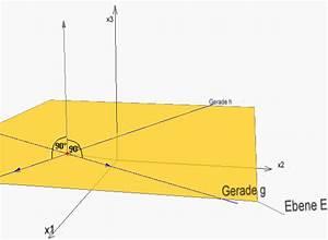 Normalenvektor Berechnen : lagebeziehungen zwischen ebenen und geraden normalenform der ebenengleichung ~ Themetempest.com Abrechnung
