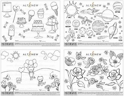 Coloring Contest Pages