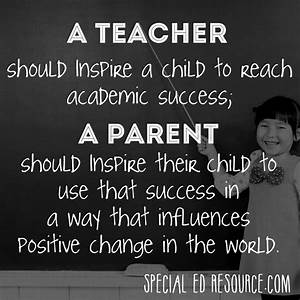 Teachers And Pa... Meeting Mom Quotes
