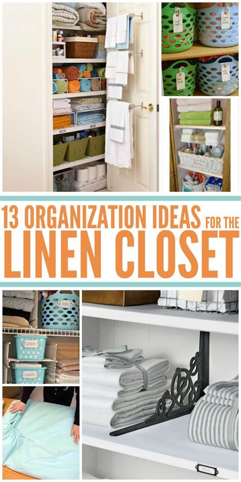 Clever Closet Organization Ideas by 13 Brilliant Linen Closet Organization Ideas Closet