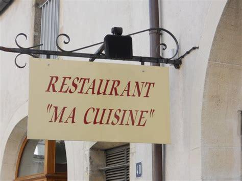 ma cuisine beaune restaurant reviews phone number