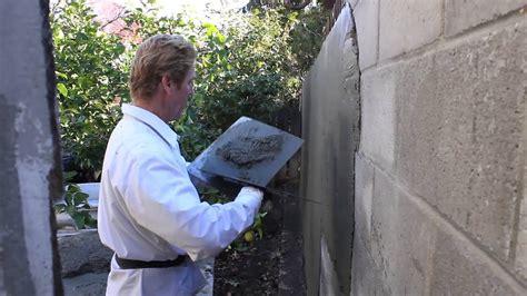 stucco thickness  cinder block  cmu walls youtube