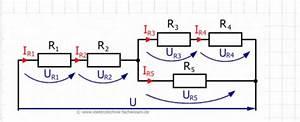 Gemischte Schaltung Berechnen : schaltung mit 6 widerst nden spannung und strom berechnen nanolounge ~ Themetempest.com Abrechnung