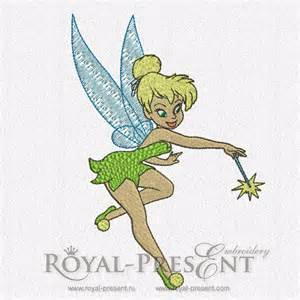 Tinkerbell Machine Embroidery Designs