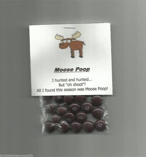 homemade moose poop chocolate candy novelty gag gift