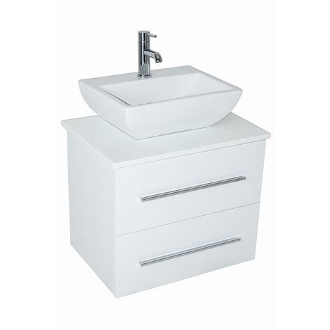 600mm wall hung vanity unit new 600mm wall hung vanity basin sink unit 2 drawer