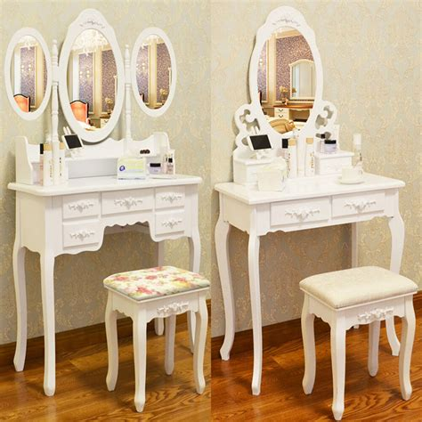 dressing table vanity sets white dressing table vanity makeup desk with 4 or 7