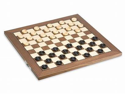 Checkers Draughts Wooden Ancient