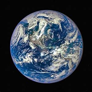 Blue Planet Earth Seen From Space Photograph by Matthias ...
