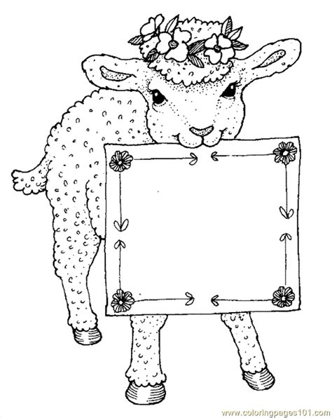 coloring pages sheep coloring page  animals sheeps
