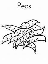 Coloring Pages Peas Sheet Vegetable Printable Worksheet Vegetables Soup Stone Broccoli Carrot Twistynoodle Asparagus Template Sandwich Handwriting Outline Snap Orange sketch template