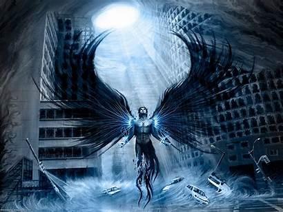 Angel Dark Wallpapers Gothic Angels Warrior Female