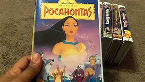 My Walt Disney Masterpiece Collection VHS Review - YouTube