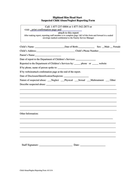 28 child abuse form templates free to download in pdf