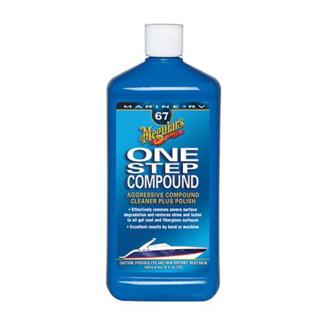 Boat Wax Compound by Meguiars One Step Compound Wax West Marine