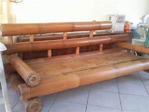 Gros Bambou Deco : canape gros bambou annonce meubles et d coration saint fran ois guadeloupe ~ Teatrodelosmanantiales.com Idées de Décoration