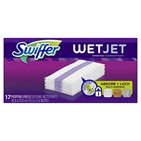 Swiffer Jet Pads For Wood Floors by Swiffer Wetjet Hardwood Floor Jet Mop Pad Refills
