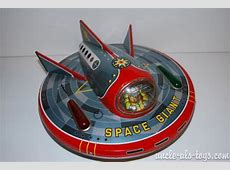 Masudaya Japan Space Giant Flying Saucer Battery Operated