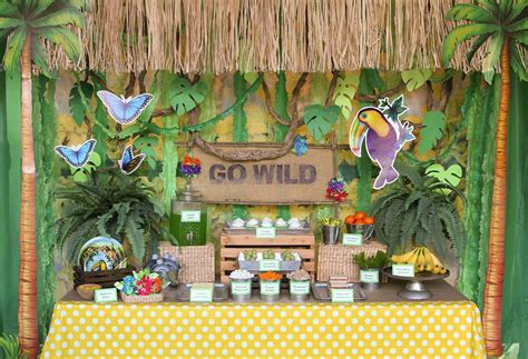 jungle party ideas animal party ideas  birthday   box