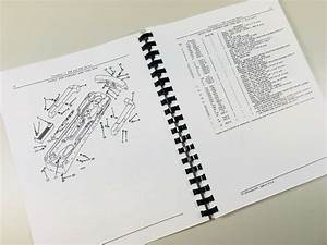 Service Manual Set For John Deere 520 Tractor Parts Owner