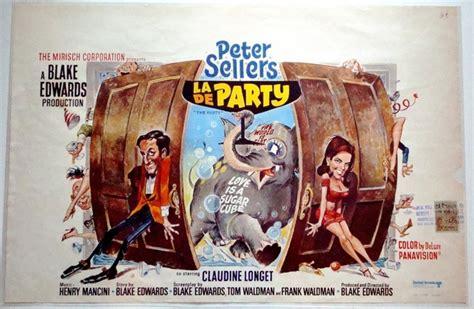 party belgian poster art  jack davis peter sellers