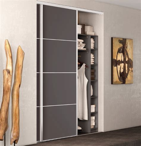 porte de placard dressing idees