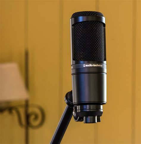 audio technica at2020 microphone review ign