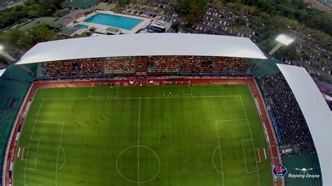 ภาพมุมสูงของสนาม Ptt Rayong Stadium