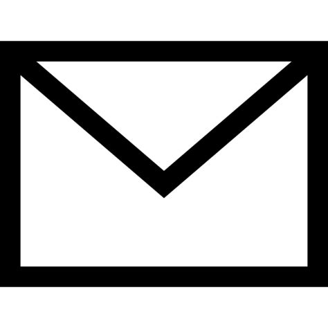 white mail icon vector png mail icon