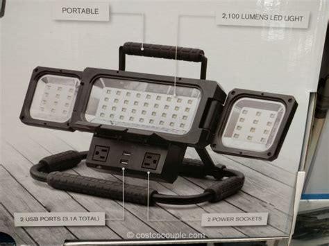 costco work light winplus led folding worklight