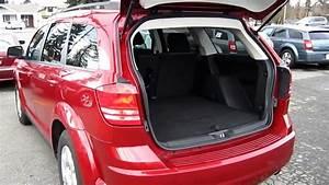 2009 Dodge Journey Se 2 4l  Red - Stock  L184254