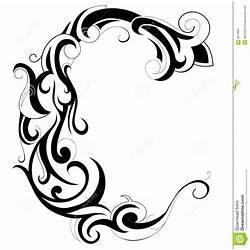 6 best images of letter c fonts flower font letter c